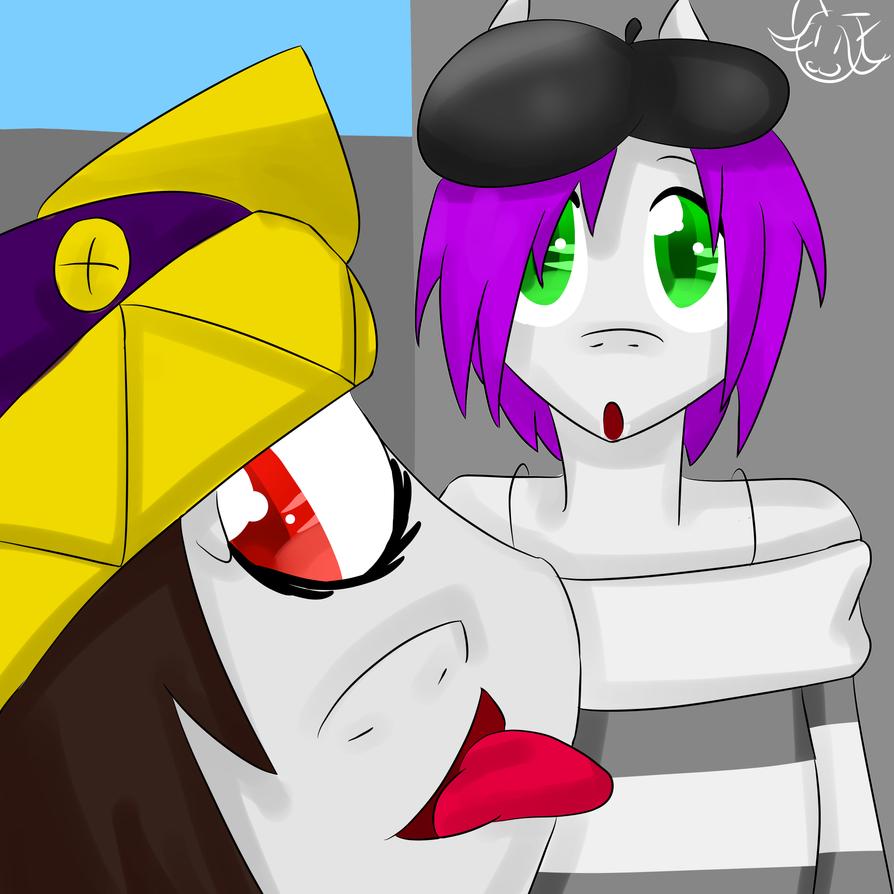 Jessie and Me by MyDoggyCatMadi