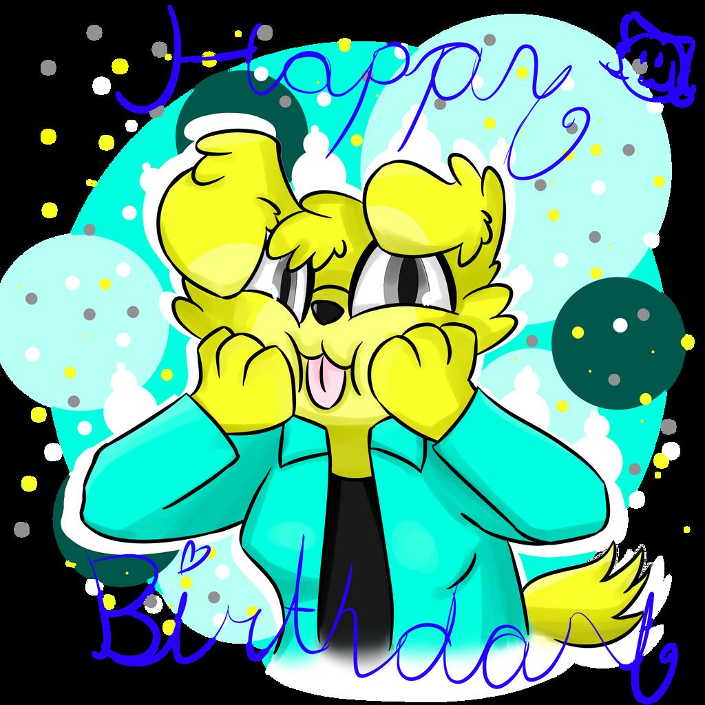 Happy Birthday oumix! by MyDoggyCatMadi