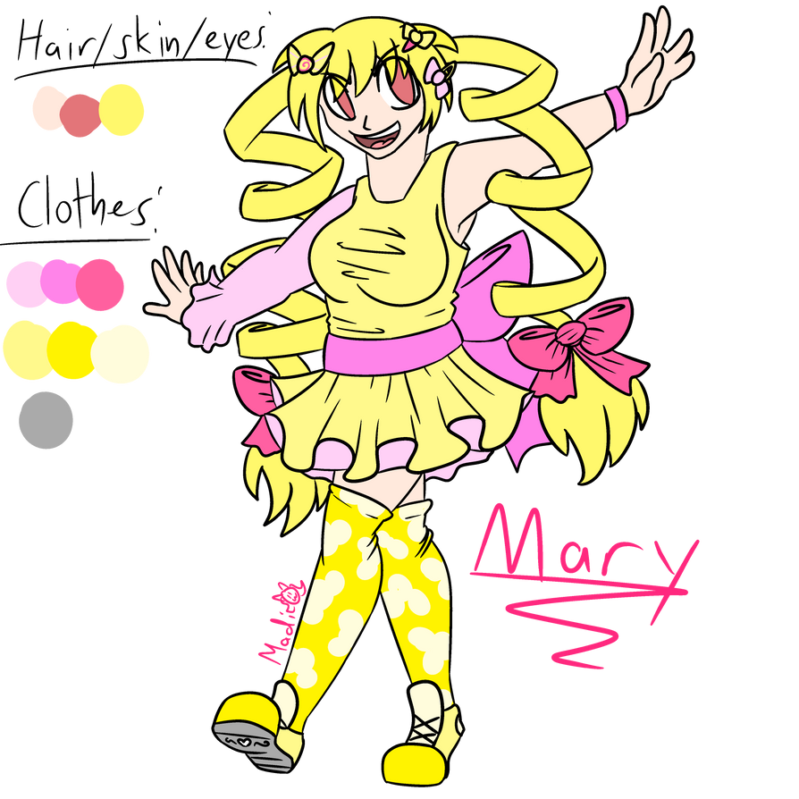 Mary Ref by MyDoggyCatMadi