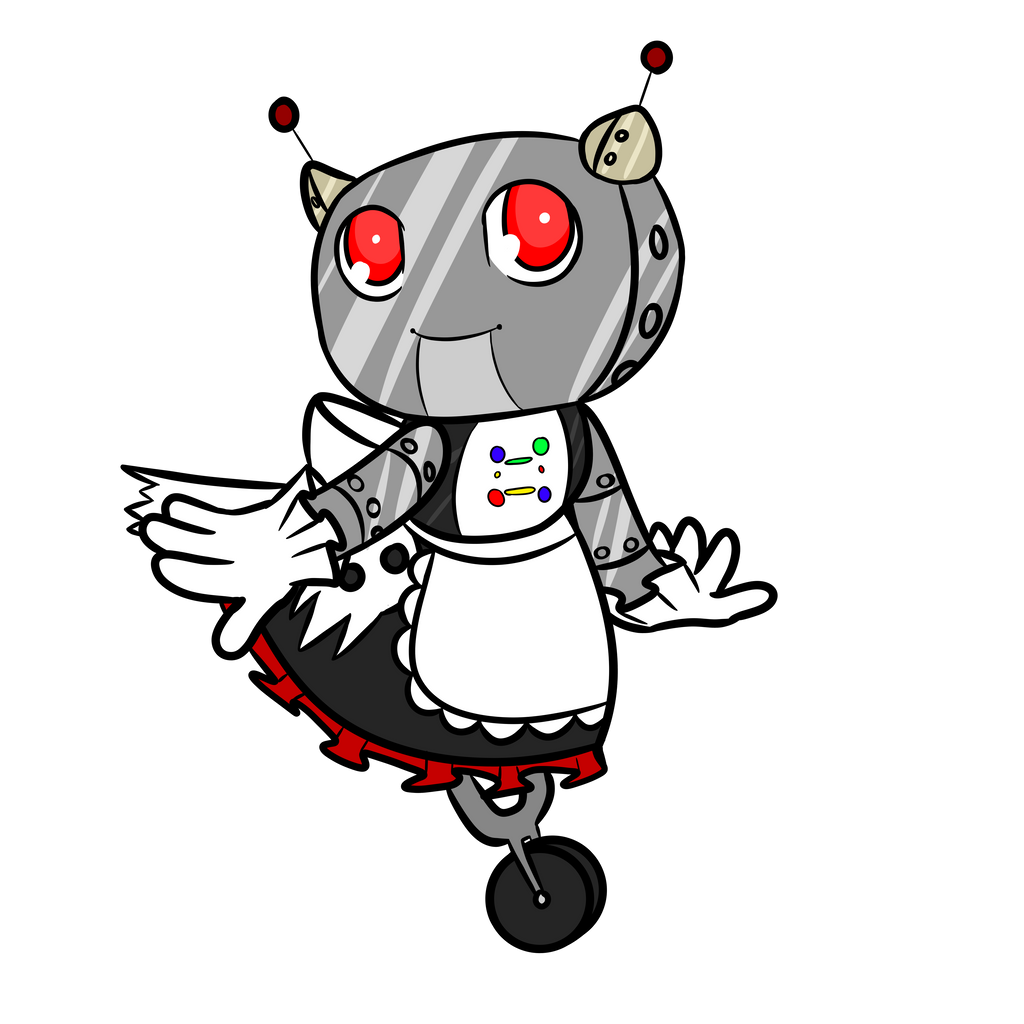 Spook-e.y. [A MadDogSweets Mascot] by MyDoggyCatMadi