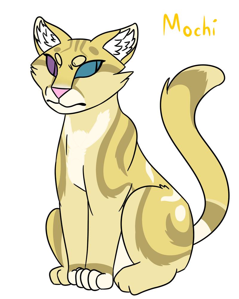 Mochi (Warrior Cats OC Maybe?) by MyDoggyCatMadi