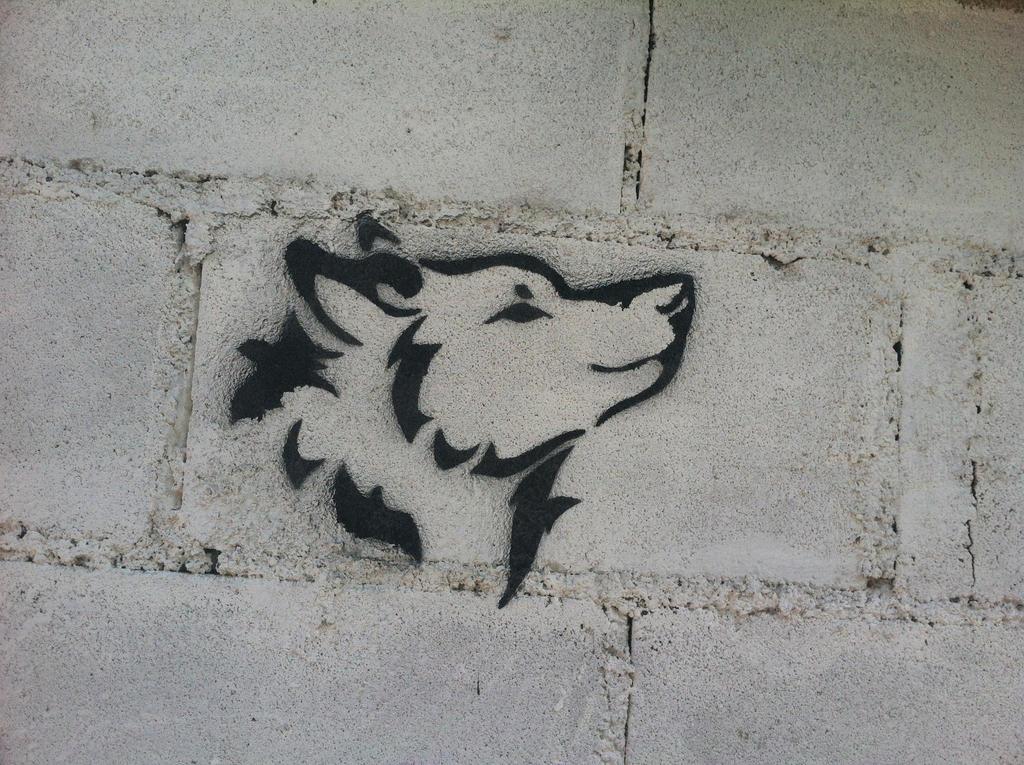 Dibujo con pintura de aerosol en pared by cmhg26 on deviantart - Paredes con dibujos ...