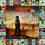 Legend of Korra: Book One - Monopoly Board