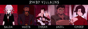 RWBY Villains Vol 4
