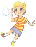 Lucas pops out of Nowhere! by CiaoNaomiKai