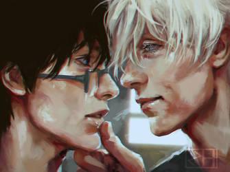Yuri and Viktor by perditionxroad