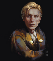 Remus Lupin by perditionxroad