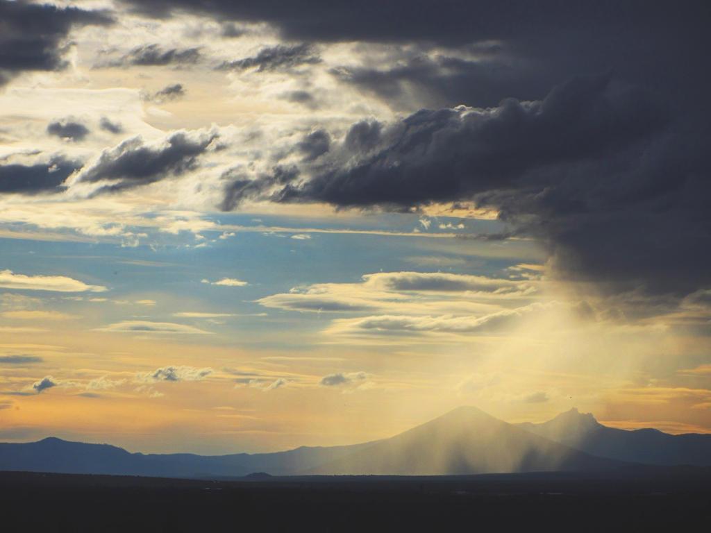 Eastern Oregon Rain Shadow by Alonewithmyself