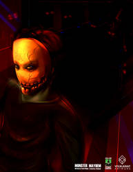 Monster Mayhem by vivalanat
