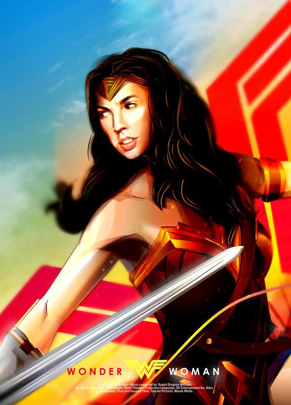 Wonder Woman by vivalanat