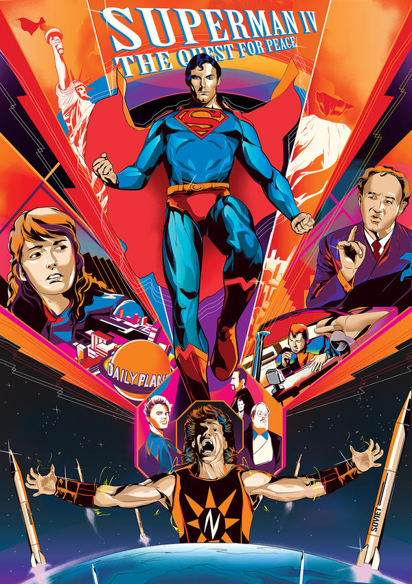 Superman IV: The Quest for Peace by vivalanat