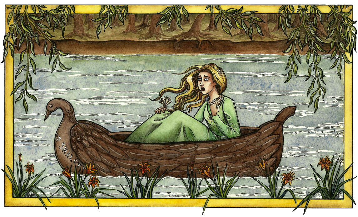 The Lady Of Shalott By Annecat On Deviantart