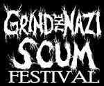 Grind the Nazi Scum Fest logo by Subtrocity