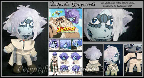 Zelgadis Greywords CustomPlush