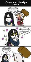 Orochimaru vs Jiraiya pt 1