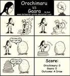 Comic: Orochimaru vs Gaara