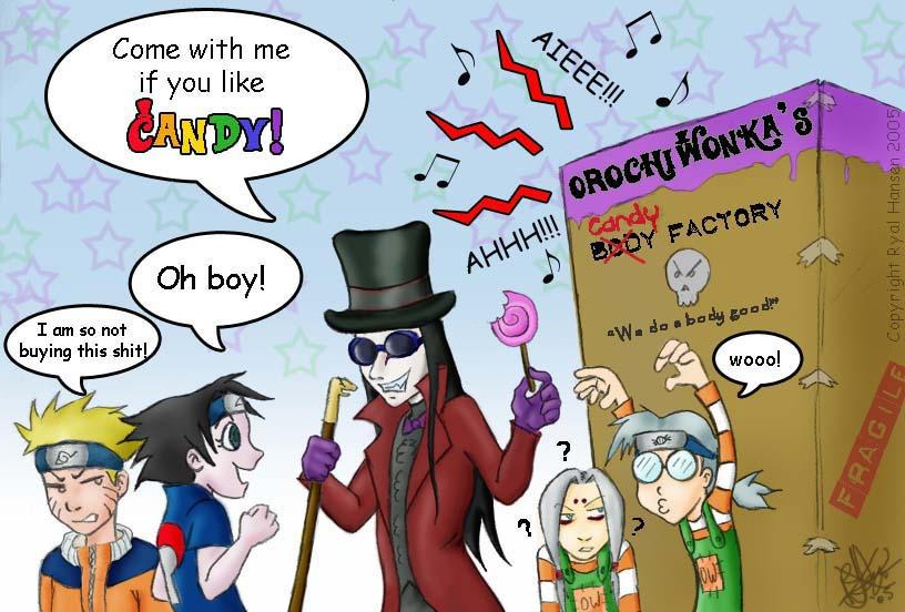 'Orochi Wonka' has CANDY by darkwater-pirate
