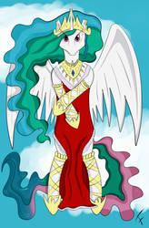 Princess Celestia in Red Dress