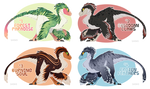 Utahraptor Adopts - Auction [CLOSED]