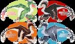 Utahraptor Adopts - Auction [OPEN 3/4] by xShoko