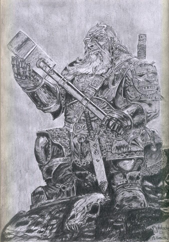 Dwarf by Dhalayla