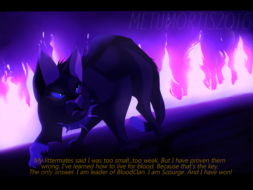 I am Scourge (Warriors) by MetuMortis on DeviantArt I Am Really Sorry Wallpaper