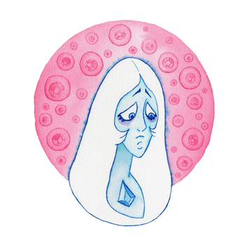 Blue Diamond - Steven Universe - Crystal Gems by Alba-R-Luque