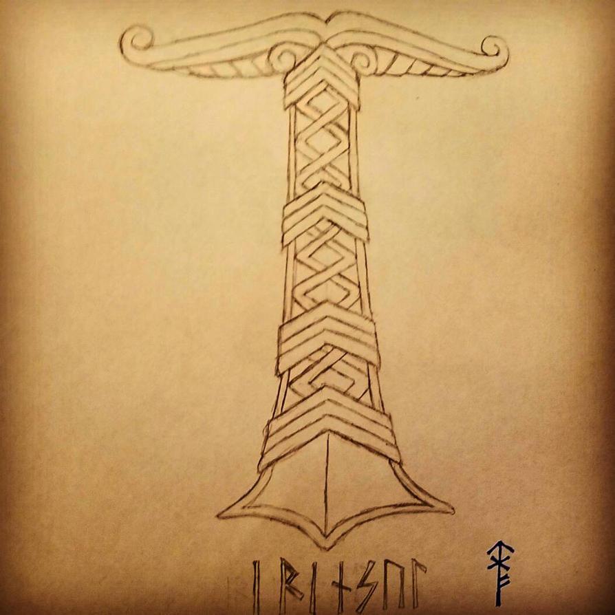 Sketch Saturdays: Irminsul  by Woad-Warrior