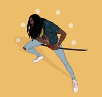 Samurai Guy by FreeMech