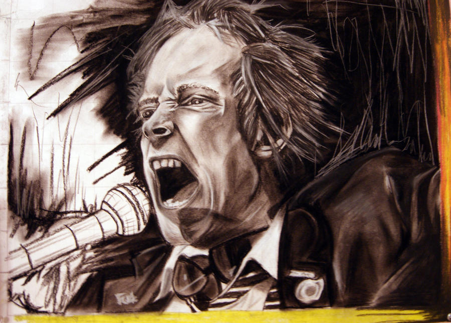 THE SEX PISTOLS johnny rotten by Estebelle