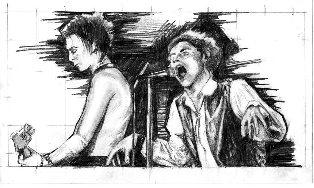 Sex Pistols Wah by Estebelle