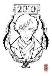 Sherlock Holmes - 2010 by KuromoriRei