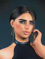 Tewia Portrait (perceptual) by ramiras21