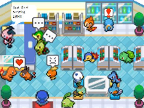 Pokemon Poke Mart Inside Images