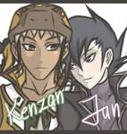 YGO GX: Jun and Kenzan request