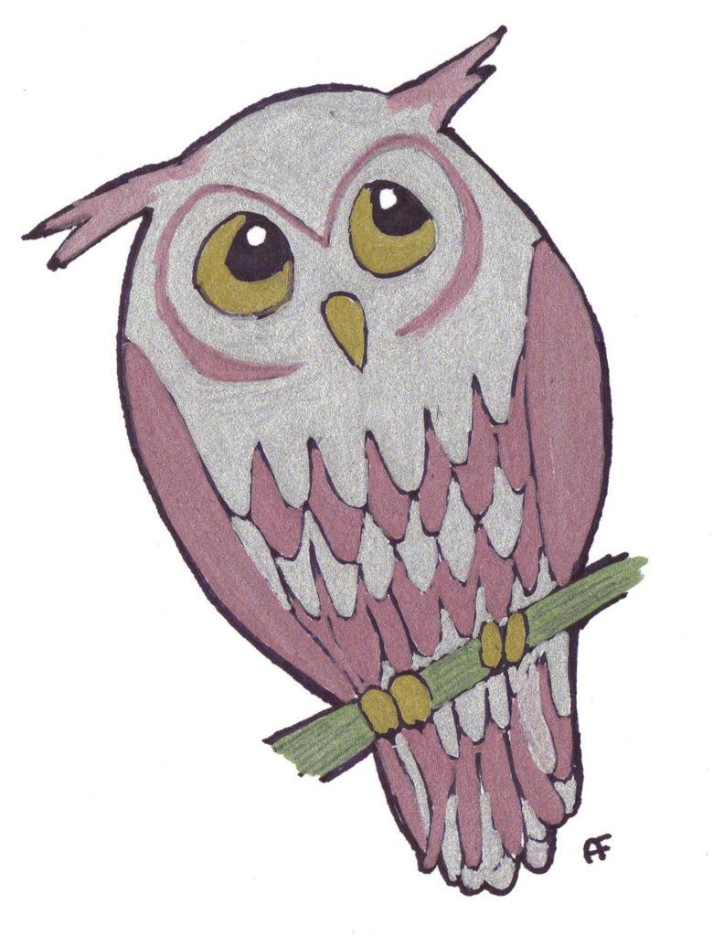 Owl cartoon by mandaowl on deviantart for Cartoon owl sketch