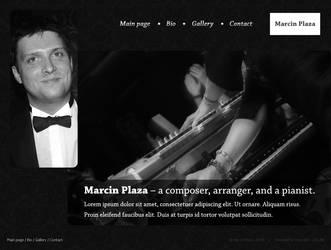 Marcin Plaza - Galway Pianist by knysha