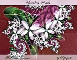 'Spiraling Florals' Calendar by Sophquest