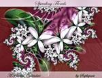 'Spiraling Florals' Calendar