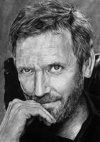 Hugh Laurie by KaraKopiara