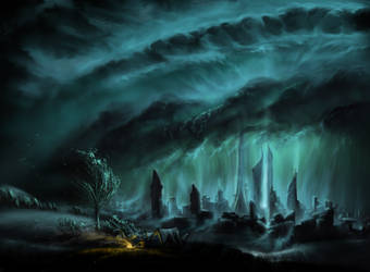 City Of Thunder by aerroscape