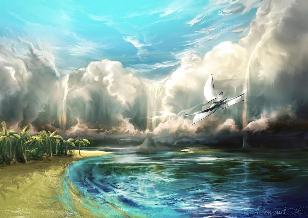 skyfall by aerroscape