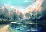 Skyfall (improved color palette version)