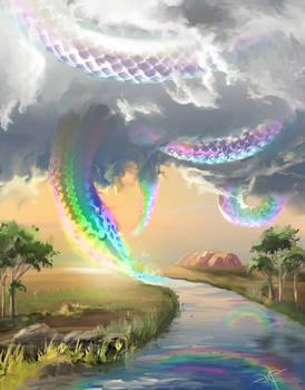 Myth Of The Rainbow Serpent