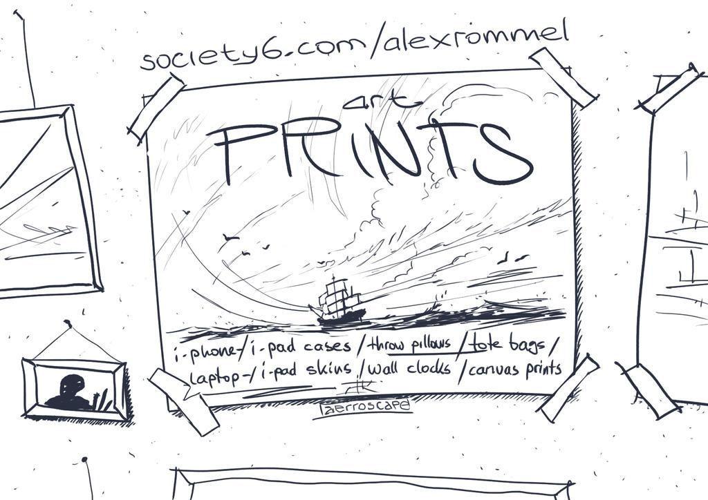 Society6 by aerroscape