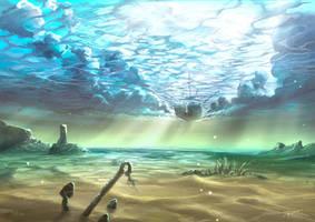 Below Sky Level by aerroscape