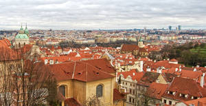 Panorama of Praha