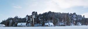 rocks of Adersbach