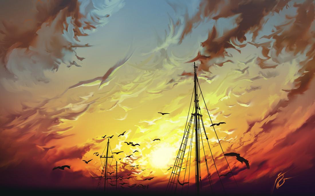 Birds by aerroscape