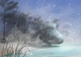Winter Spirit by aerroscape